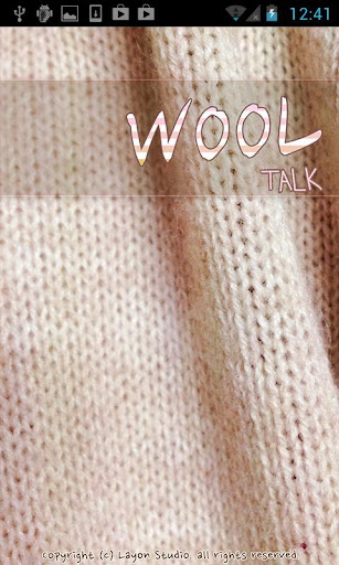 KAKAO TALK Theme Wool Talk