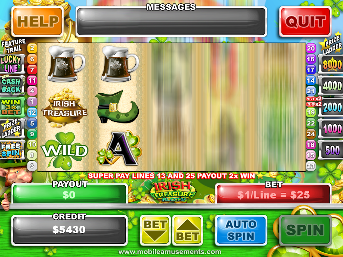Irish Treasure Slots- screenshot