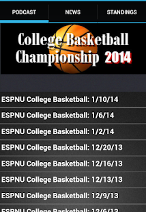 College Basketball Finals 2014 - screenshot thumbnail