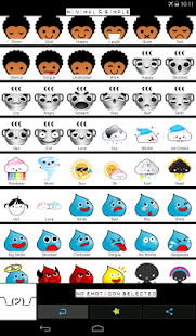 Emoticons for Chats - screenshot thumbnail
