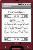 Screenshot of Surah Hafazan for Android