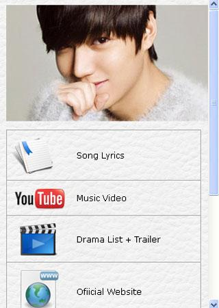 Lee Min Ho Fans App - screenshot