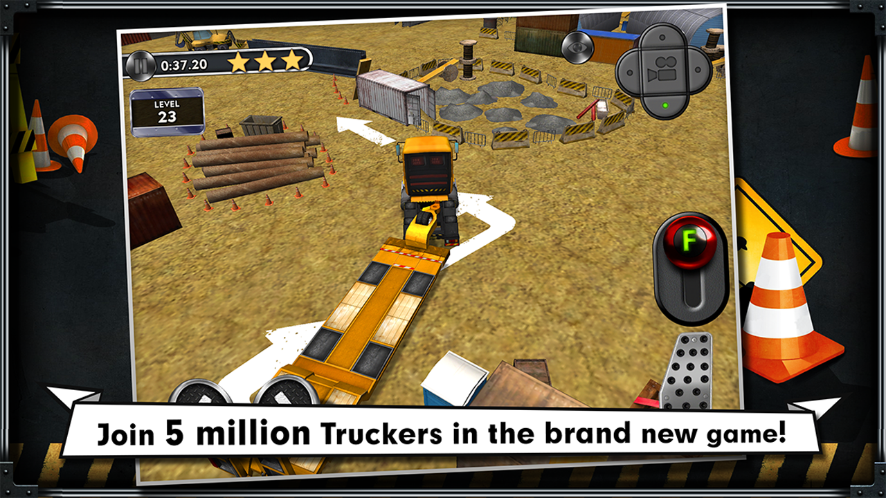 Trucker: Parking Simulator - screenshot