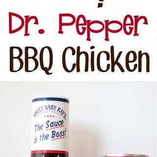 Crockpot Dr. Pepper BBQ Chicken.