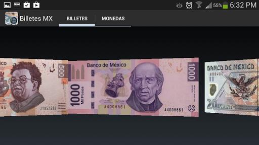 Billetes Monedas MX