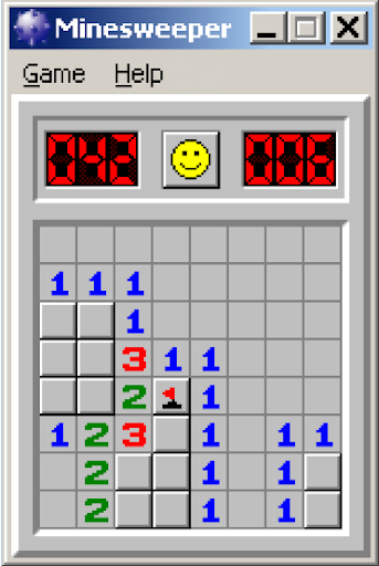 Minesweeper for Windows XP