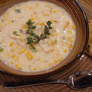 Quick Chicken Corn Chowder.