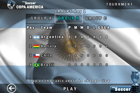 easySoccer Copa America- screenshot
