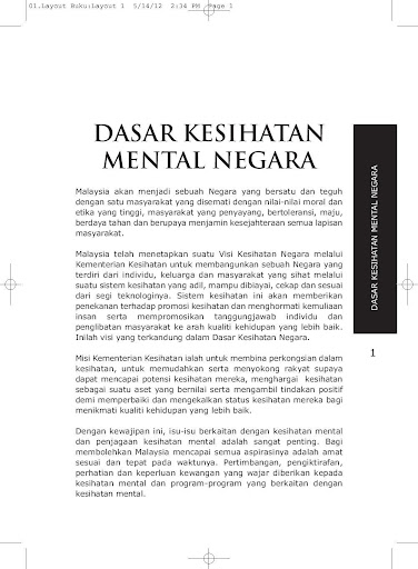 KKM BKP DK Mental Negara