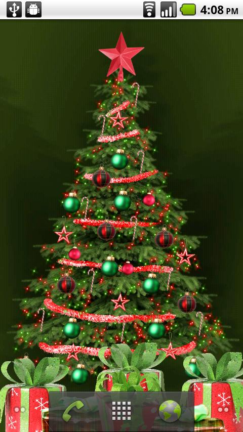 My Christmas Tree LWP - screenshot