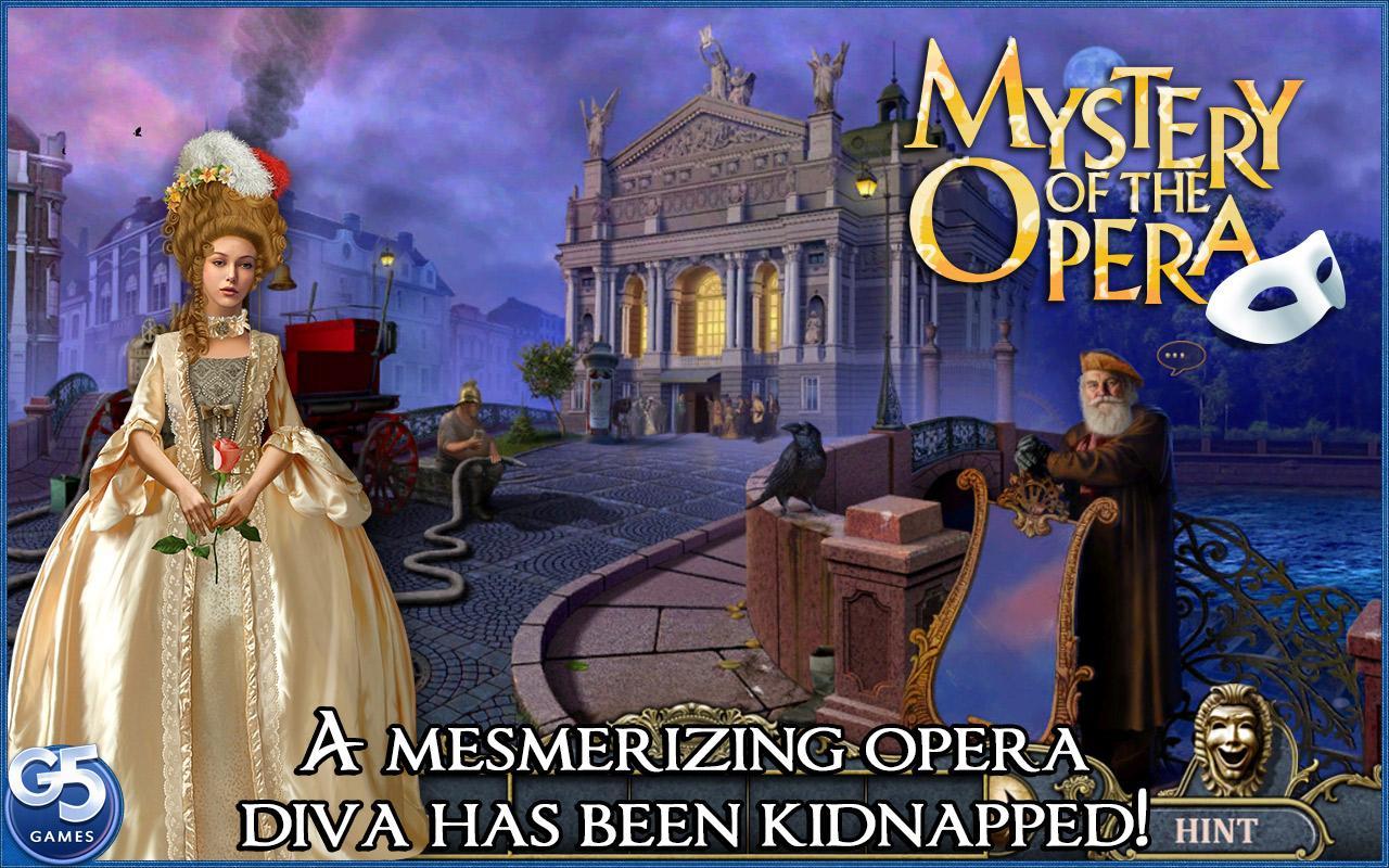 G5 Mystery Of The Opera Game Walkthrough