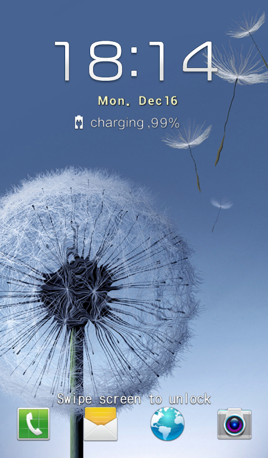 Galaxy S III Locker - screenshot