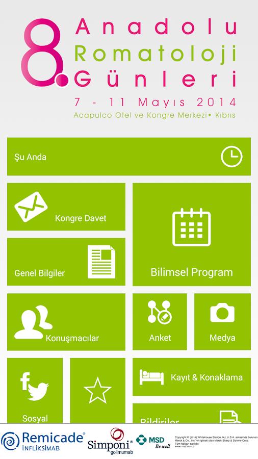 8. Anadolu Romatoloji Günleri - screenshot