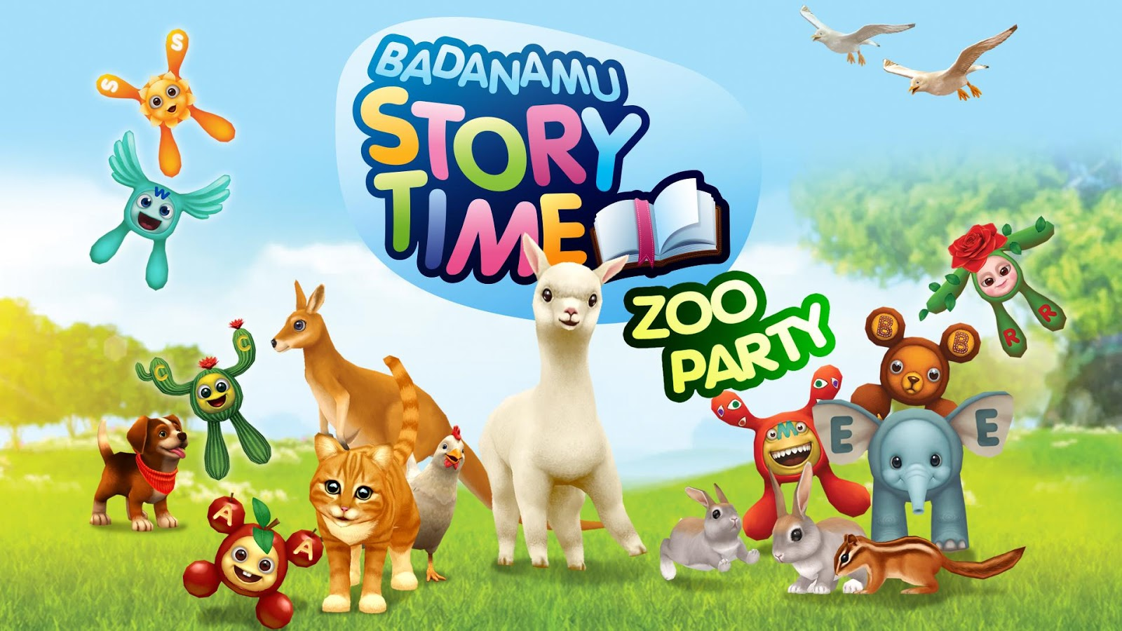 Badanamu Zoo Party- screenshot