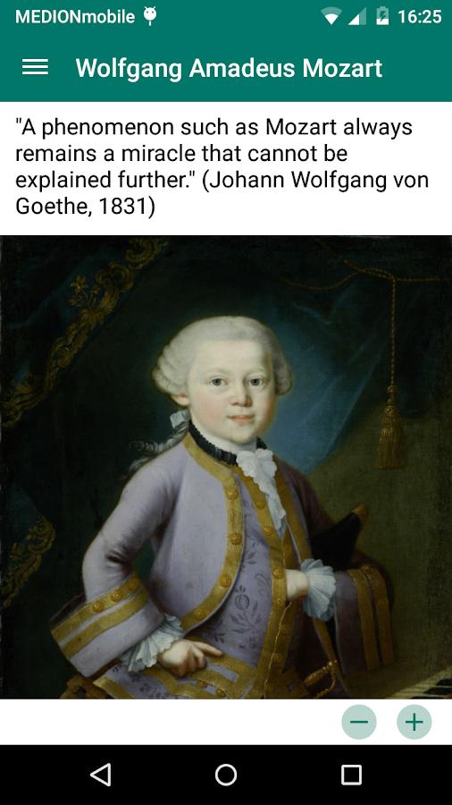 Mozart Geburtshaus TextGuide- screenshot