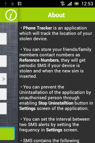 PhoneTracker- screenshot