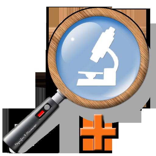 拡大鏡 & 顕微鏡 Plus (ルーペ) 生活 App LOGO-APP試玩
