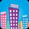 拉手酒店预订 logo