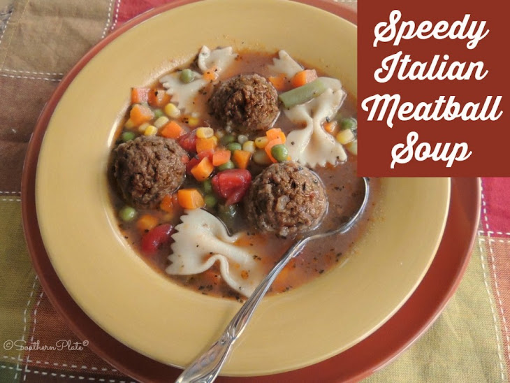 Italian Bowtie Meatball Stew Recipe