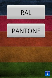 Color detector for RAL PANTONE - screenshot thumbnail