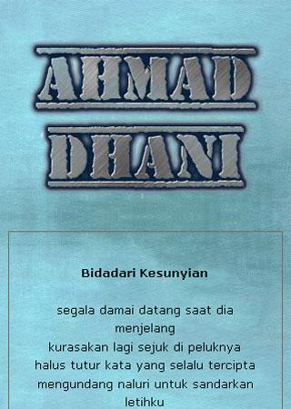 Ahmad Dhani App - screenshot