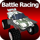 Monster Car Battle Racing
