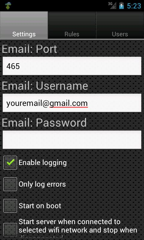SMS Gateway Ultimate- screenshot