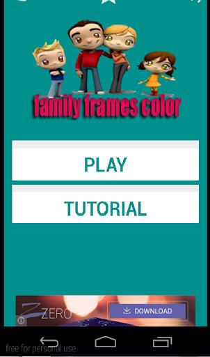 family frames color
