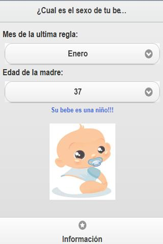 ¿Niño o niña? - screenshot
