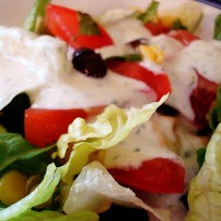 Creamy Cilantro Lime Salad Dressing.
