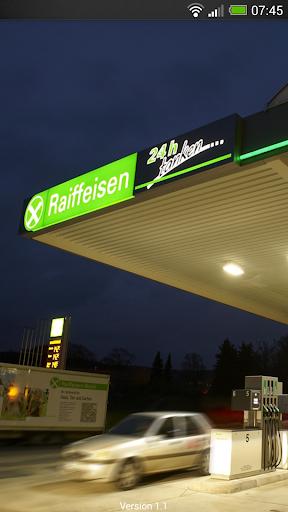 Tanken - Raiffeisen TankFinder