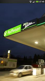 Tanken - Raiffeisen TankFinder - screenshot thumbnail