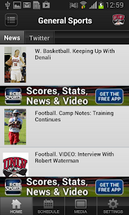 UNLV Athletics - screenshot thumbnail