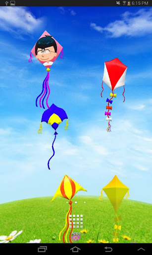 3D Kites Live Wallpaper