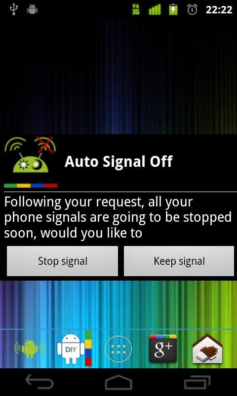 Daily Scheduled Signal On/Off - screenshot