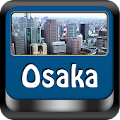 Osaka Offline Map Travel Guide