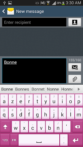 French for Sweet Keyboard