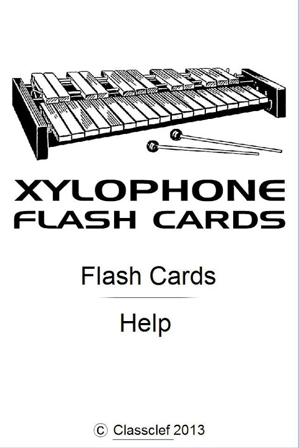 Xylophone Notes Chart Xylophone Notes Flash ...
