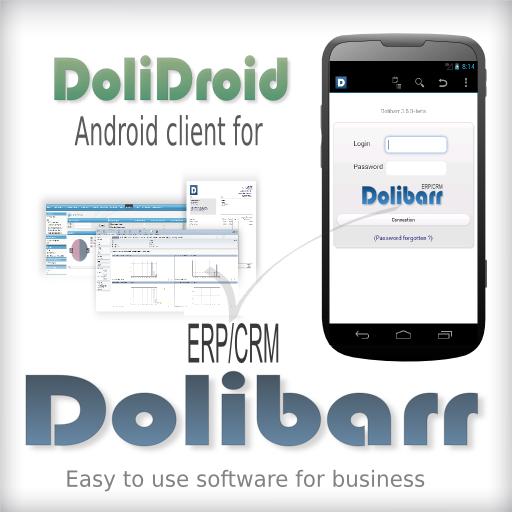 DoliDroid (Dolibarr ERP & CRM) 商業 App LOGO-APP試玩