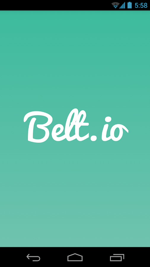 Belt.io - screenshot