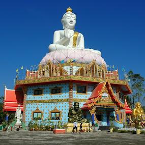 Temple by Lem Kenhook - Buildings & Architecture Public & Historical ( people, buddha )