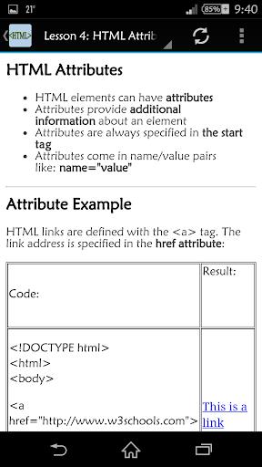 【免費教育App】HTML Tutorials-APP點子