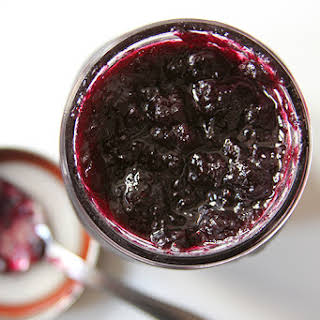 Blueberry Jam with Lemon and Thyme.