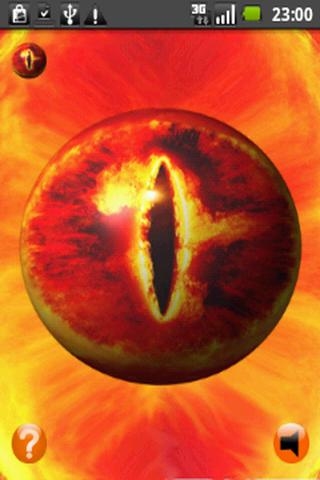 3D Eye of Sauron - LOTR - screenshot
