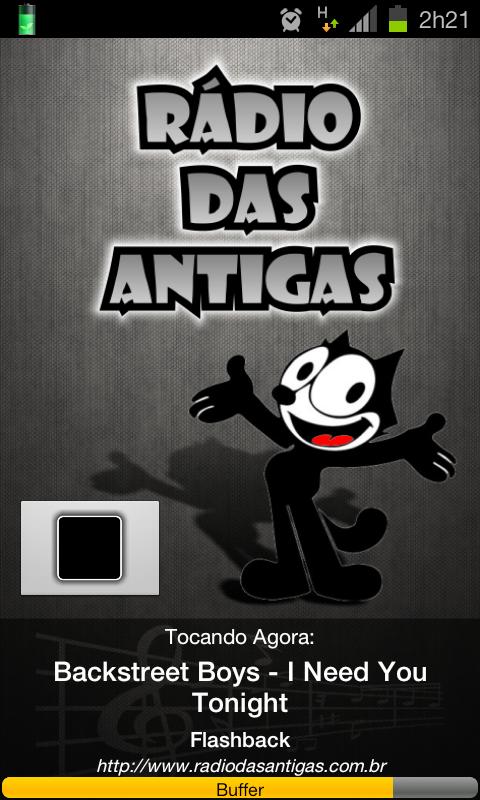Rádio das Antigas - screenshot
