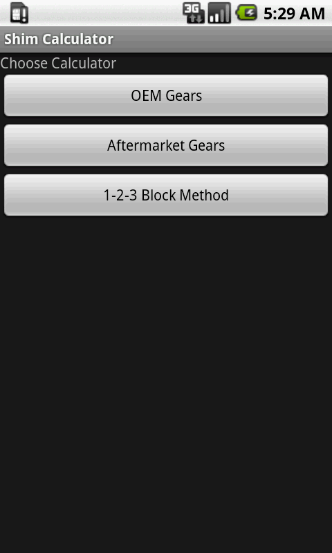 Ring Amp Pinion Shim Calculator Android Apps On Google Play