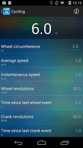 CSR Cycling Speed