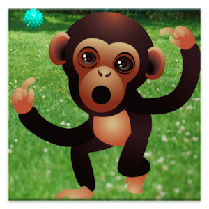 Talking Baby Monkey Icon