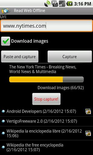 Read Web Offline Free  screenshots 3