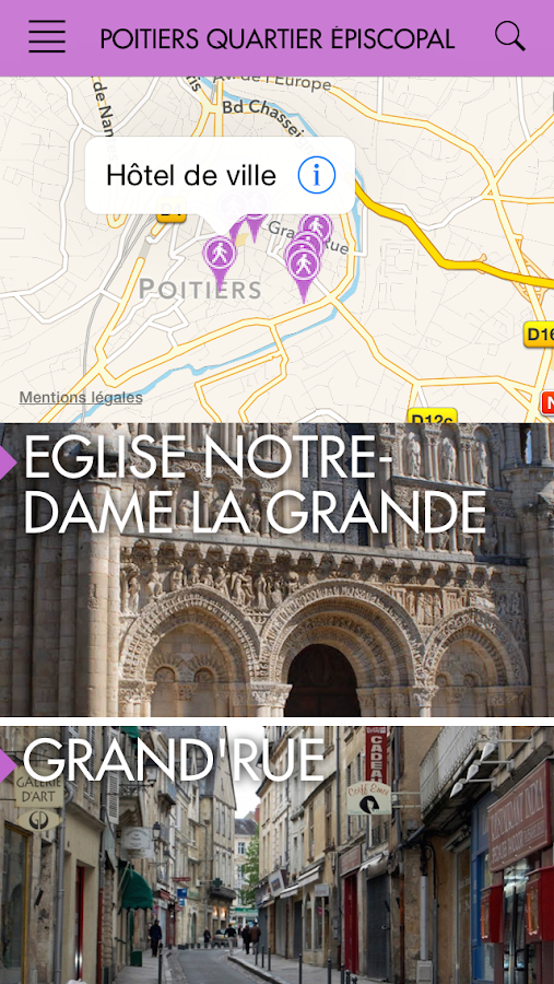 Poitiers - ZeVisit- screenshot